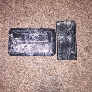 COUNTRY ROAD PURSE WALLET & CHECK HOLDER, used for sale